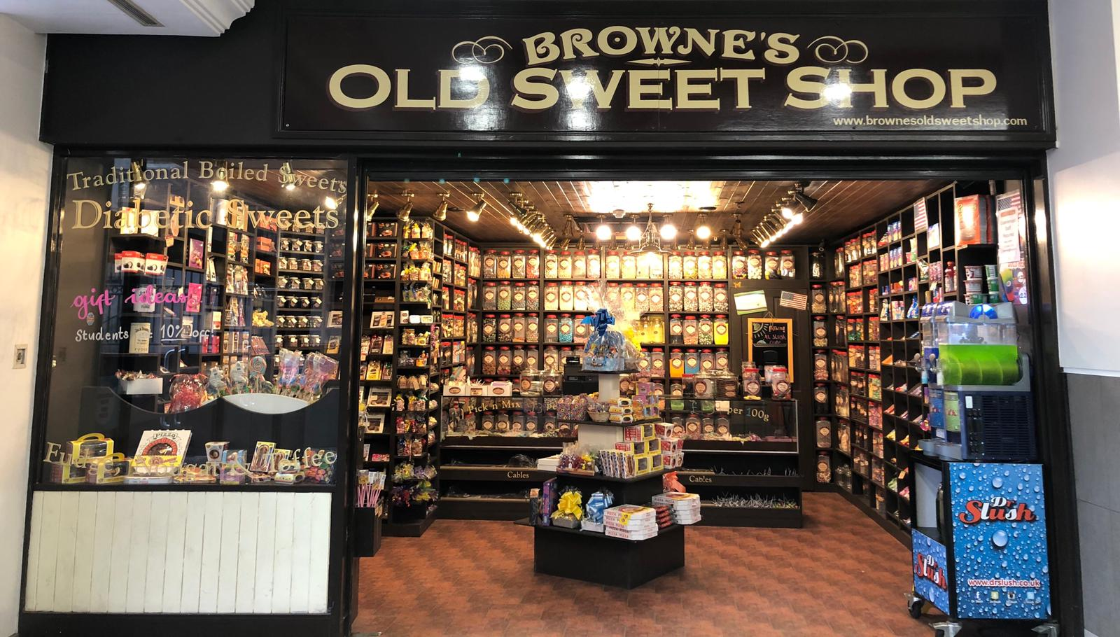 Brownes Old Sweet Shop –  *CLOSED until further notice